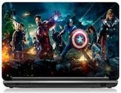 super cool,lively,Avenger's laptop skin
