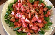 Freshest Ever Watermelon Salad