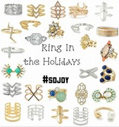 LOVE our rings, many are sized s/m or m/l so perfect to gift!