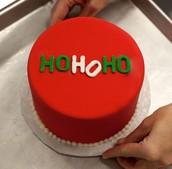 HO HO HOLIDAY CAKE