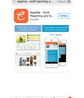 Dowload the Keptme app or access the Website