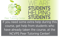 NCVPS Peer Tutoring Center