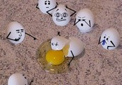 our idea of making Christopher (my egg contraotion)