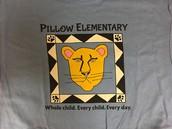 Student-designed tshirt number 2...for Pillow School Spirit Fridays!
