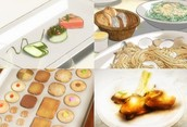 Delicious variety of food to choose from!