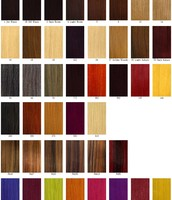 different colors of hair