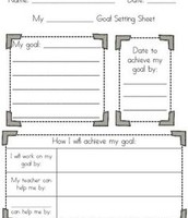 Great activity to do together! Once complete, place the worksheet somewhere the student can see it everyday (bedroom, bathroom door, front of binder)