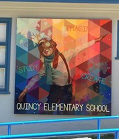 New Mural at QES