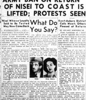 Anti-Jap Protests