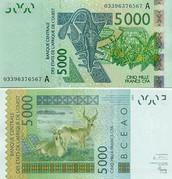 5000 CFA Francs