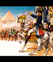 Napolean invaded Egypt 178