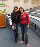 Laura and her SHS Counselor Mrs. Valdes