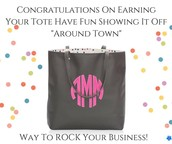 A BIG WooHoo to those who earned the fabulous new Around Town Tote!  WAY TO GO, LADIES!!!