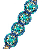 Sardinia Blue Bracelet ($98) - Sale Price: $49
