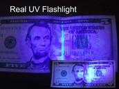 UV Light for Counterfeit Money