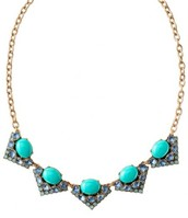 Rory Necklace (blue) - $35  SOLD