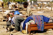 A very undeveloped part of this country that struggles from poverty