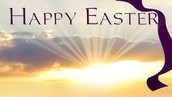 Wishing you and your family a blessed Easter!