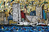 Original Painting by Dan Fleming