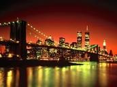 Night View of NY