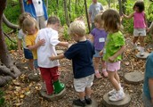 Nature, children, art, community and the great outdoors!