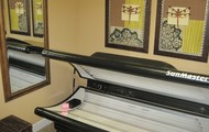 Tanning bed use at your leisure!
