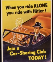 Propaganda poster in WWII