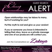 ARE YOU IN AN OPEN RELATIONSHIP?