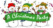 Christmas Party ~ Sunday, December 13th @ 12:30 PM