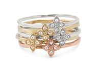 Moraley flower stackable bands, 39-