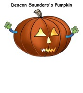 During Halloween I made a pumpkin in create a pumpkin.