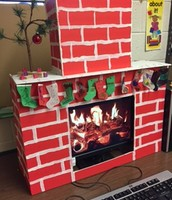 "We have a desktop ""fireplace"""
