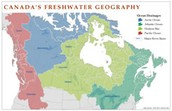 Percent of Freshwater in Canada