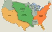 Gaining New Orleans; the Louisiana Purchase