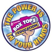 Box Tops... Box Tops... Calling All Box Tops!