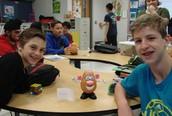 8th Grade: Mr. Potato Activity