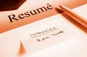 Have your resume ready.