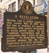 Thomas Merton: Alive at Fourth & Walnut