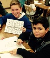 6th Grade Artists