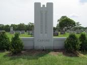 Al Capone's grave.