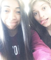 Amanda and I
