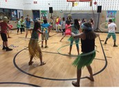 Hula Hooping Contest
