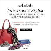 Stella & Dot Stylists wanted!