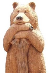 If you join us you'll turn out to be the best wood carver in the USA!!
