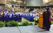 Dr. Ortega Address the Graduates!
