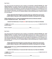 6th Grade Opt Out Form
