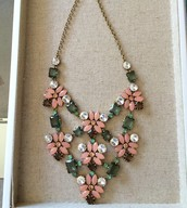 Fleurette Statement Necklace $99.00