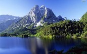 the beautiful mountains