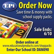 No Hassle! Order School Supplies NOW for 2016-2017 South Students!