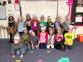 We had lots of fun celebrating the 100th Day of School!!